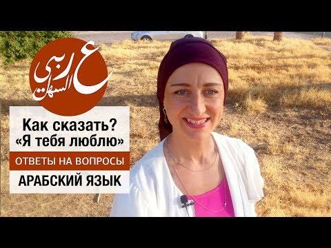 Как сказать по-арабски? Я тебя люблю. Живой арабский с Еленой Клевцовой.