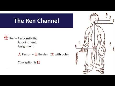 Exploring Acupuncture Points:  The Ren Channel