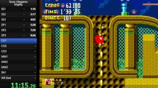 Sonic Megamix - Mighty Any% Speedrun in 28:30