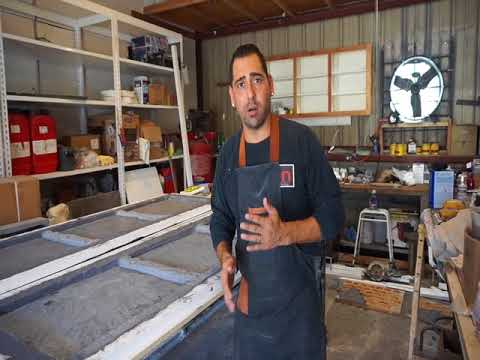Truth about concrete! Exposed gfrc how to countertop