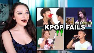Kpop Idols Funny Epic Fail Moments Reaction!!