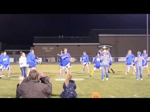 Ririe High School  Powder Puff Cheerleaders 2013