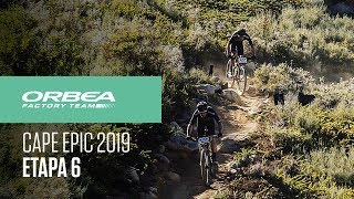 Etapa 6 Cape Epic 2019   Orbea Factory Team