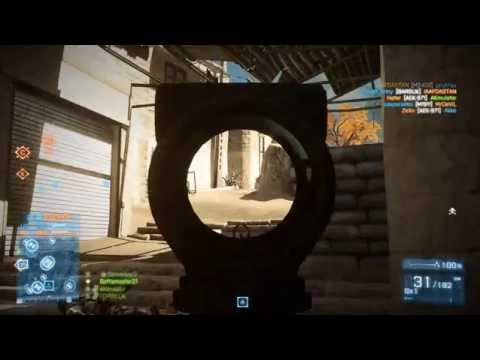 Battlefield 3 Gameplay Geforce 820M Core i5 5200U