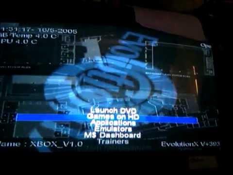 XBOX EVOLUTIONX DASHBOARD DRIVER PC