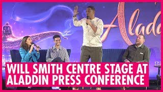 Aladdin Press Full Conference, Will Smith & Co Stars - London 2019