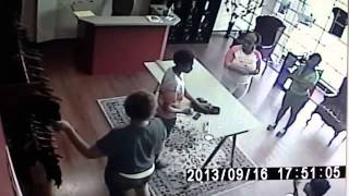 WEAVE THEFT CAUGHT ON TAPE!