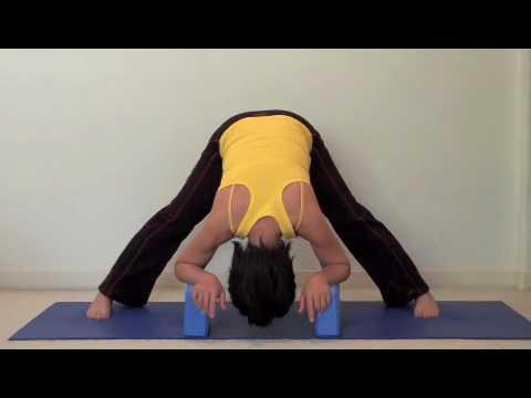 easy yoga  hamstring stretch 4 of 4  youtube