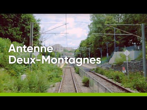 Ligne Deux-Montagnes et REM - Travaux et défis d'opération