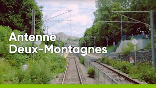 Ligne Deux-Montagnes et REM : travaux en cours et défis d'opération