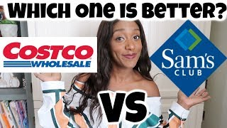 Costco VS Sam's Club  / Which One is Better Sam's Club Or Costco? / 🍁🎃VLOGTOBER DAY 19
