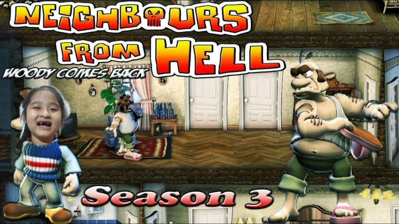 Game vui | Neighbors from hell |  Anh hàng xóm tinh nghịch | Season 2  Part 3