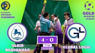 Львівводоканал - GlobalLogic [Огляд матчу] (Gold Business League. 17 тур)