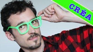 Comment dessiner des lunettes 3d ? Kemar - Les lunettes d