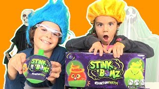 Boules puantes d'Halloween ! - STINK BOMZ : LES PELUCHES PROUTS à SENTIR, à ECOUTER et à CARESSER !