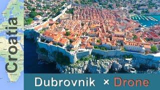 【ドゥブロヴニク×ドローン空撮】魔女の宅急便クロアチア旧市街 thumbnail
