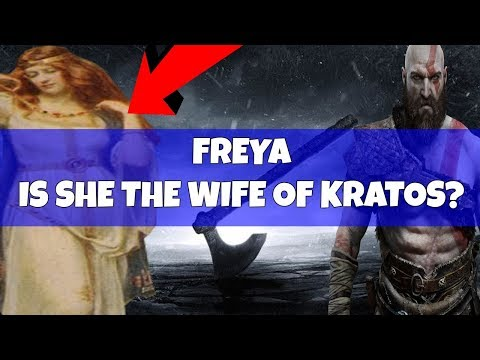 God of war Discussion old  Is FREYA Kratos's wife  Atreus's Mother? Analysis and Breakdown