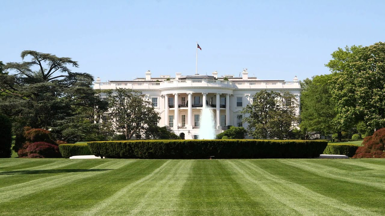 Whitehouse White House Front Lawn Background Youtube
