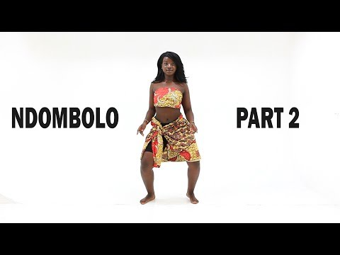 How To Dance Ndombolo Part 2 (Congolese Soukous Tutorial ) With Aurelie