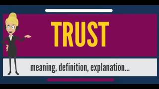 what is the true definition and meaning of trust True meaning of jihad : , the muslim literary trust of trinidad and tobago aims at correcting this misconception and also giving a true picture of the real.