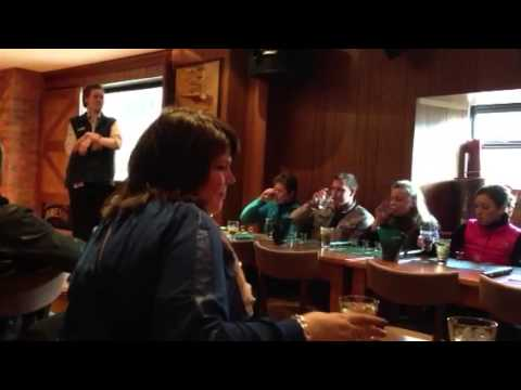 Lessons in whiskey tasting at The Old Jameson Distillery in