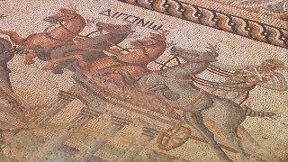 Мозаику времён Римской империи раскапывают на Кипре (новости)
