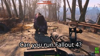 Fallout 4 PC System Requirements and Build Recommendations