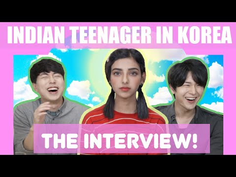 Indian Teenager In Korea | Interview With Korean Dost | Trying Indian Sweets