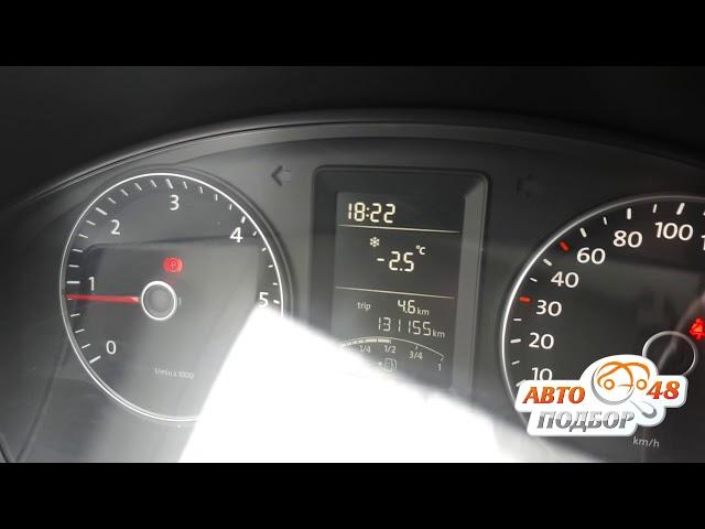 VW Caravelle 2011. Скрученный пробег. Проверка Launch.