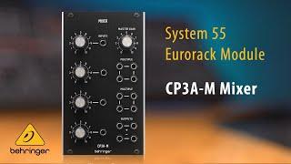 CP3A-M Mixer Eurorack Module