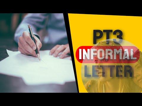 pt3 essay informal letter