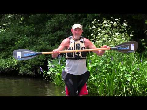 How To Hold Kayak Paddle