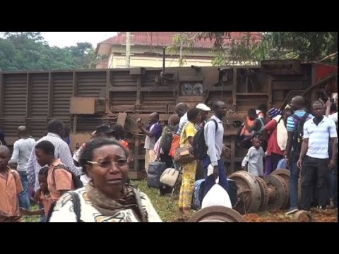 53 killed in Cameroon train derailment: state radio