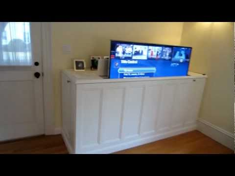 TV Lift Cabinet - First video