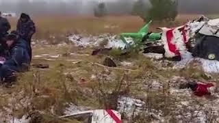 Под Казанью при падении вертолета погиб человек