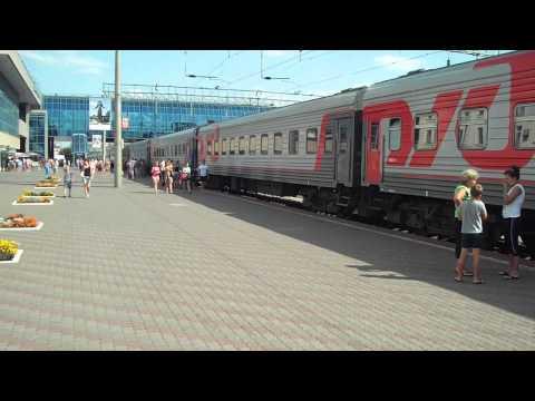 Поезд 247, Анапа - Москва, станция Ростов на Дону с коментариями
