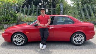 Test drive alfa romeo 156