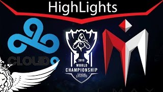 C9 vs IM Day 4 Highlights & Summary 2016 World Championship [HD]