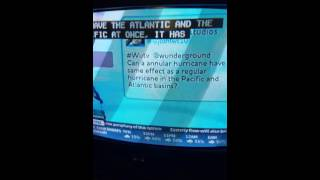 My Question On Weather Underground On The Weather Channel