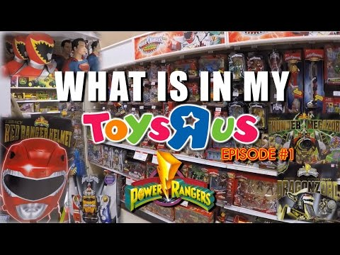What Is In My Toys R Us (Episode#1)  POWER RANGERS