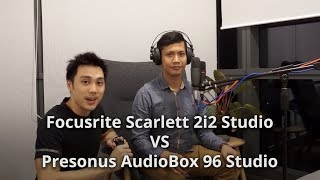 Focusrite Scarlett 2i2 Studio (2nd Gen) VS Presonus Audiobox 96 Studio - Which should you buy?