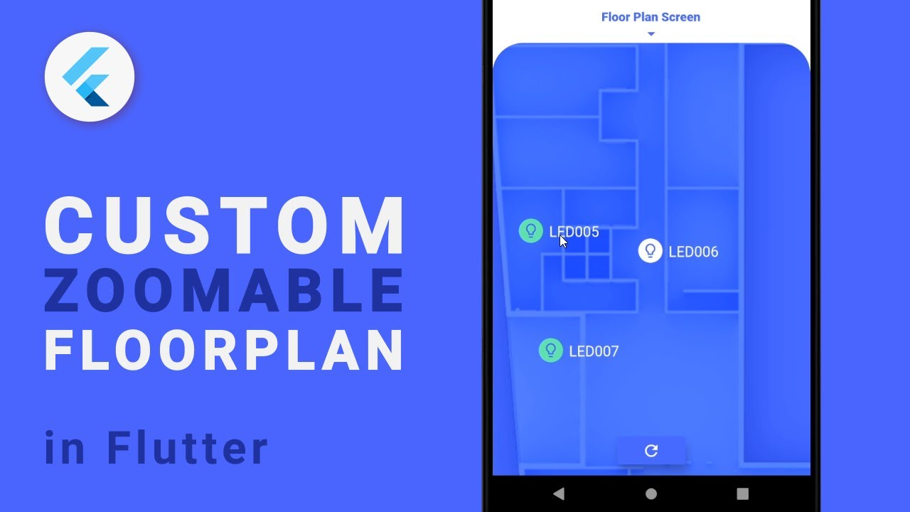 Custom Zoomable Floorplan with Flutter
