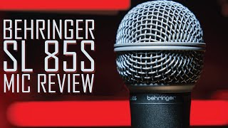 Behringer SL 85S Budget Dynamic Microphone Review / Test (Is it better than the XM8500?)