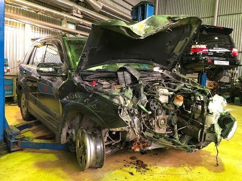 Suzuki Grand Vitara VS Дерево - Последствия ДТП на 100 км\ч