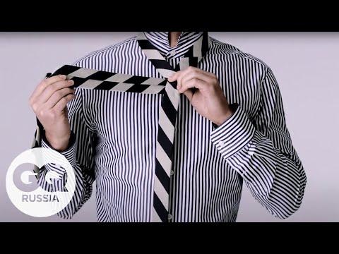 Как идеально завязать галстук