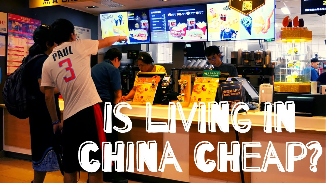 Cost of Living in China (for Expats) - YouTube
