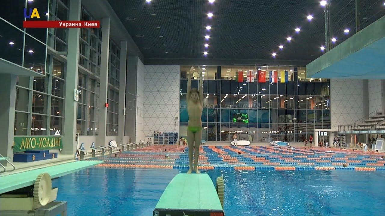Первый международный турнир по прыжкам в воду среди детей