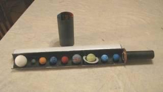 Make a Unique Solar System Diorama