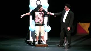 Ed Alonzo S Psycho Circus Of Magic And Mayhem Part 2 Of 3 In HD Knotts Scary Farm 2010