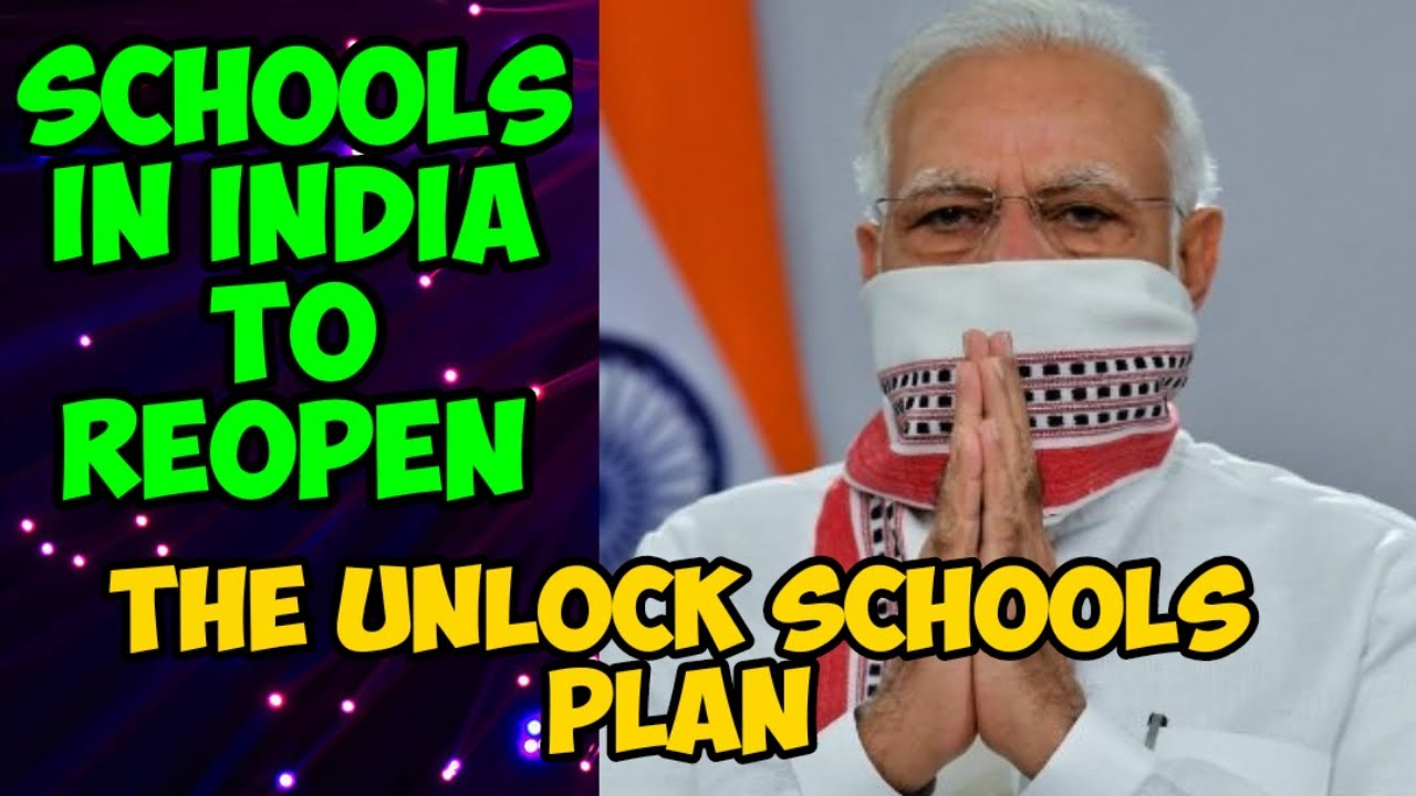 India Gets Set to Reopen Schools from 1 September | The Details of the Unlock Plan